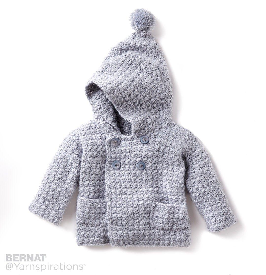 Cozy Crochet Hoodie   Knits   Pinterest