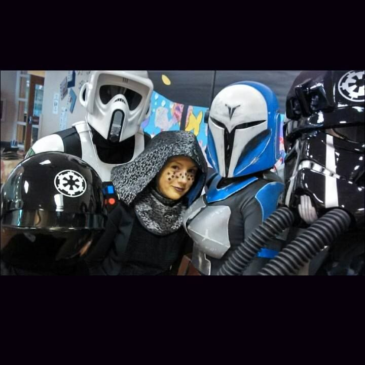 Selfie time with The Everglades Squad of the 501st Legion.