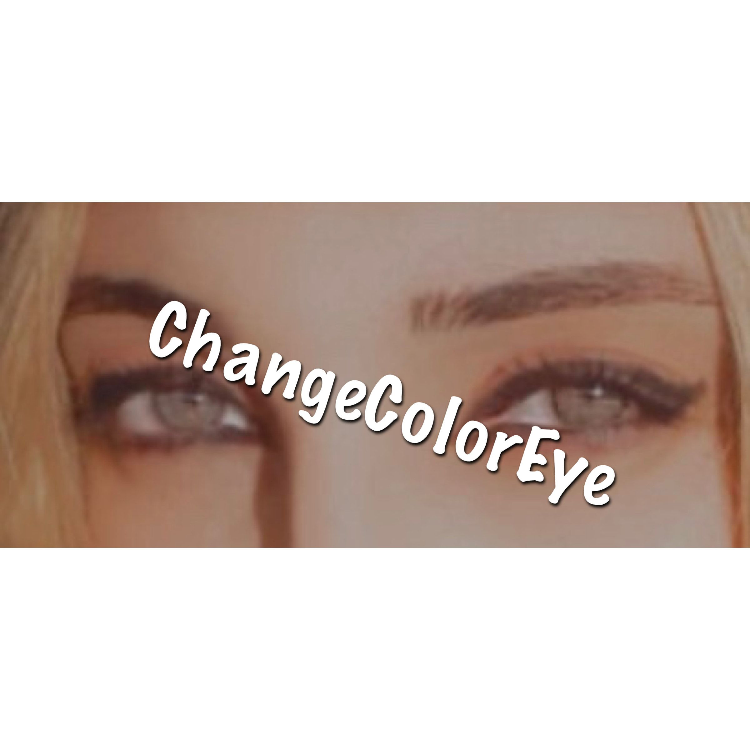 I Changed My Eyes From Brown To Blue Using Fruit And Herbs Eye Color Change Change Your Eye Color Eye Color