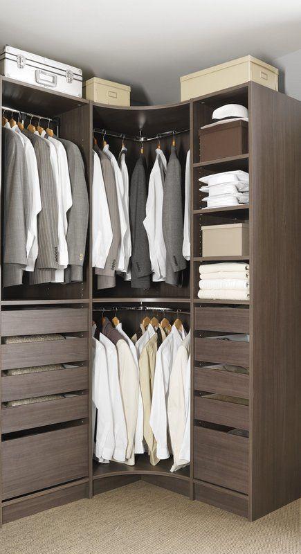 Dressing D Angle Amenagement Dressing Dressing Chambre Idee