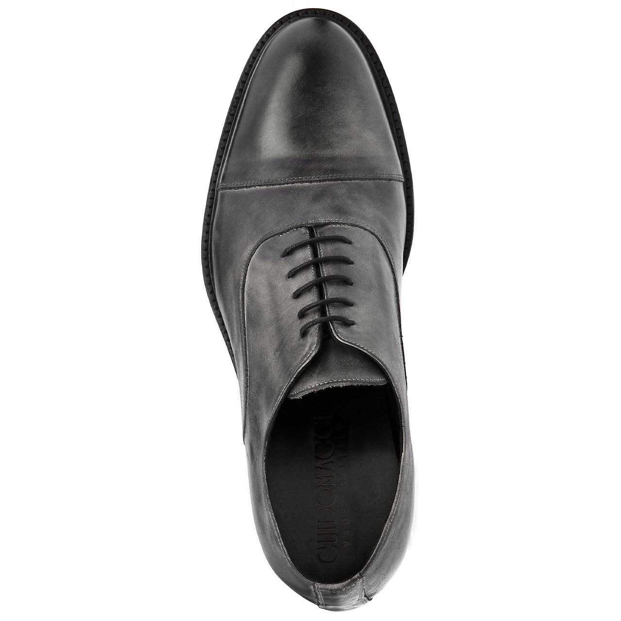 Elevator Dress shoes   Castro (Grey Burnished). Upper in full grain leather 0246b879b73