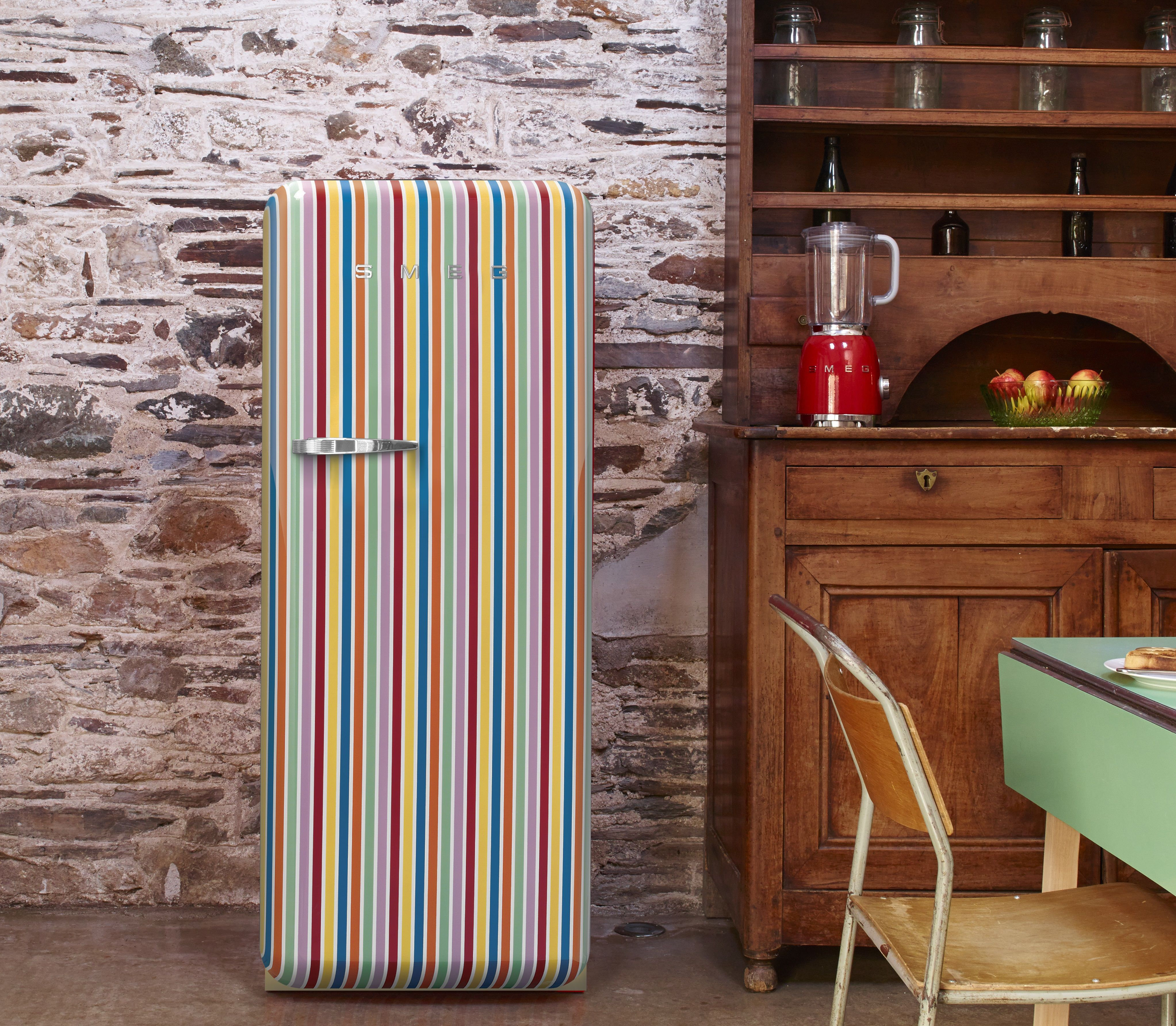 Dare to be different! Loving this colourful fridge from Smeg. #smeg ...