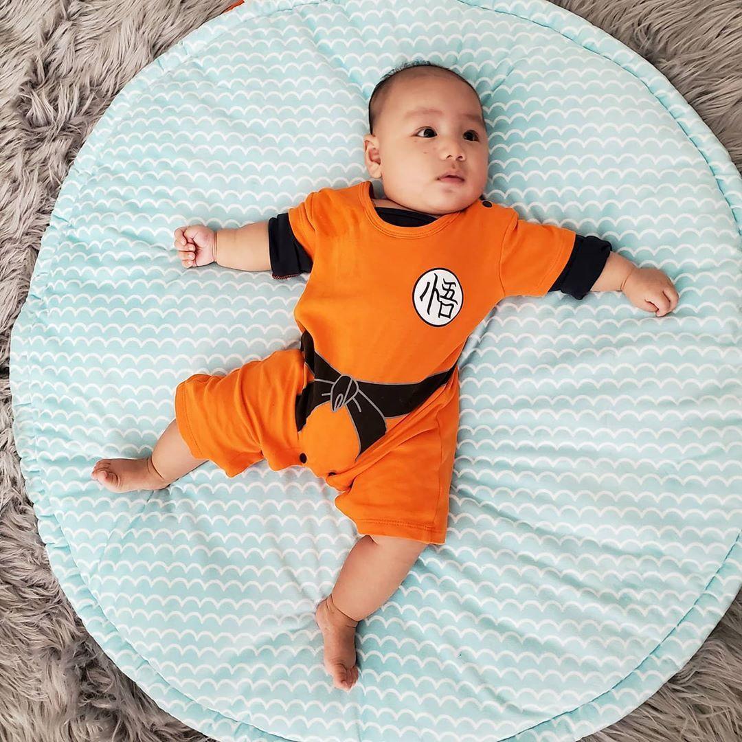 Dragon 🐉 boy! . . . #dragonballz #baby #cosplay #babyboy