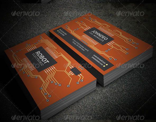 Creative Business Card Design Ideas Entheosweb Business Cards Creative Electronic Business Business Card Design