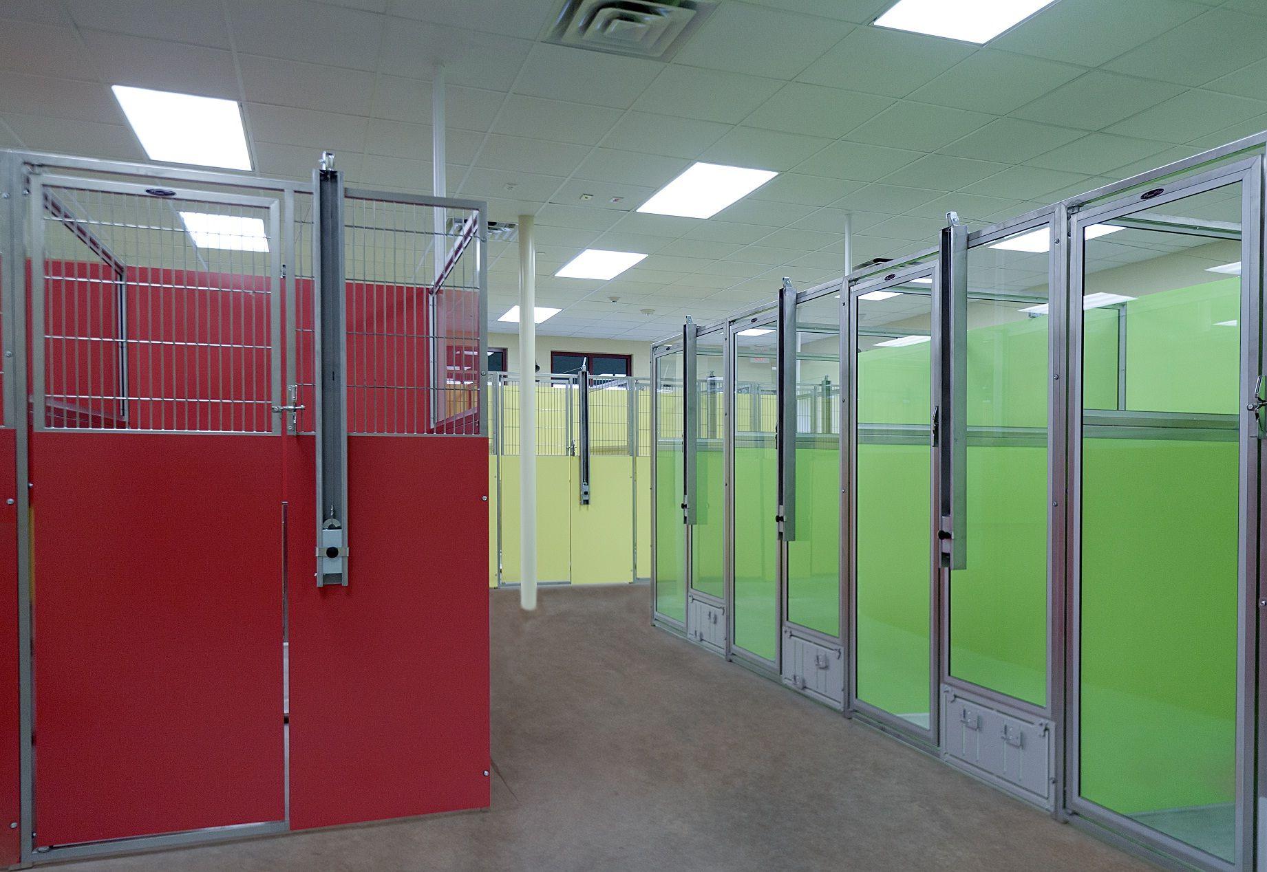 Shor line t kennel kennel system animal holding pinterest dog kennel designs dog boarding for Interior design services plano