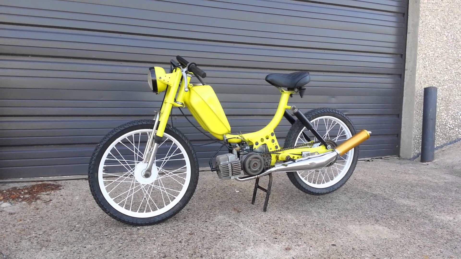 1979 sears freespirit moped custom - YouTube