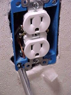 Fixing a loose electrical outlet box mobile home repair fixing a loose electrical outlet box mobile home repair sciox Choice Image