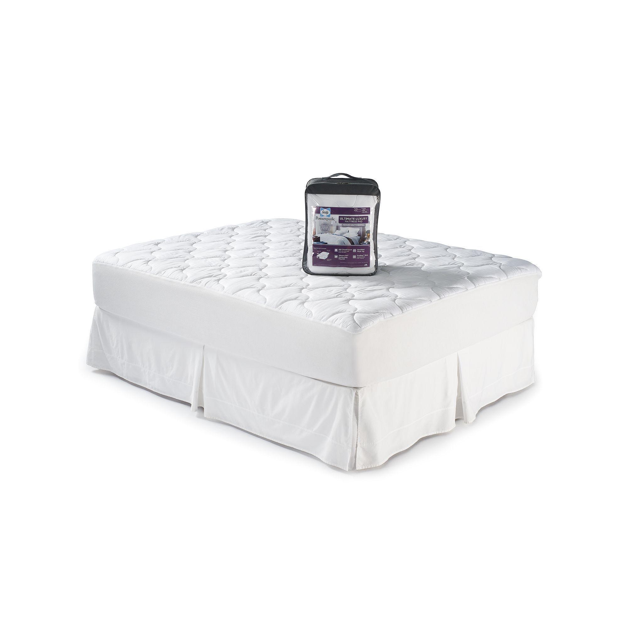 Sealy Posturepedic 400 Thread Count Luxury Mattress Pad ...