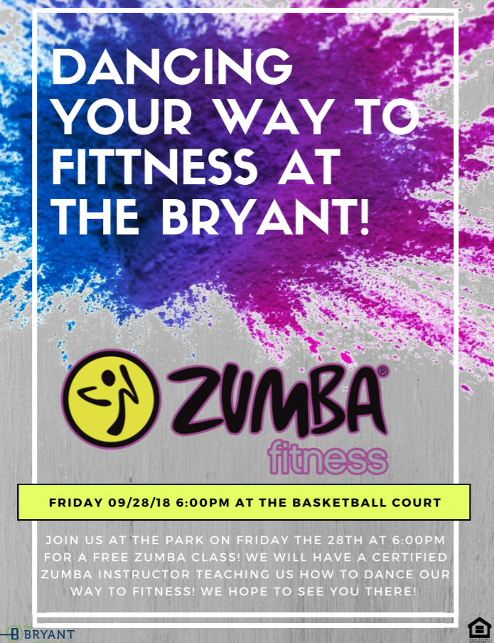 Fitness Can Be Fun Join Us For A Free Zumba Class This Friday You Ll Be Dancing Your Way To Fitness In No Time Friday Workout Bryant Luxury Apartments