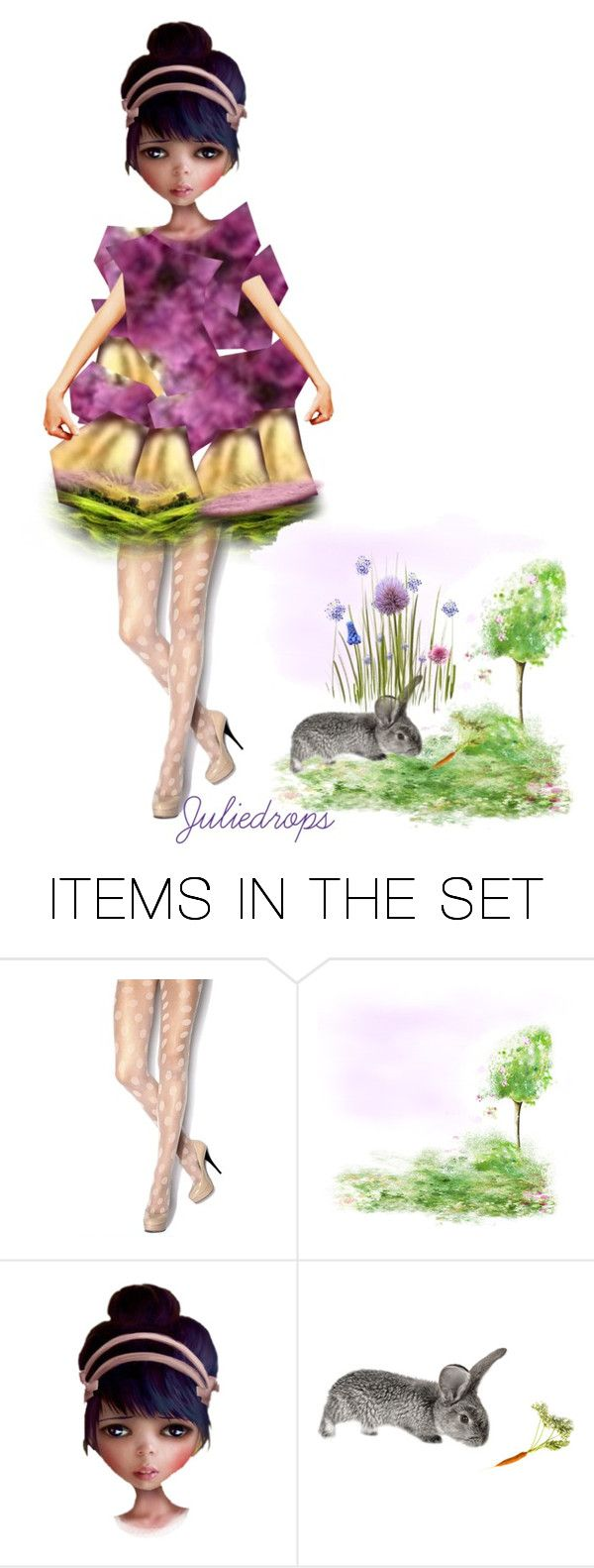"""Posy Pop..."" by julidrops ❤ liked on Polyvore featuring art"