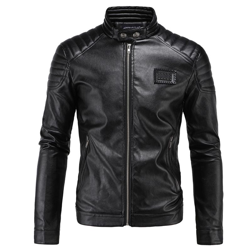 High Quality 5XL Mens Leather Aviator Jacket Name Brand Winter ...