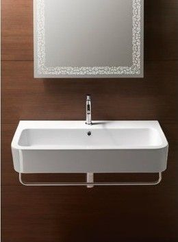 Ceramic Wall Mounted Sinks   A Great Alternative For A Modern Bathroom