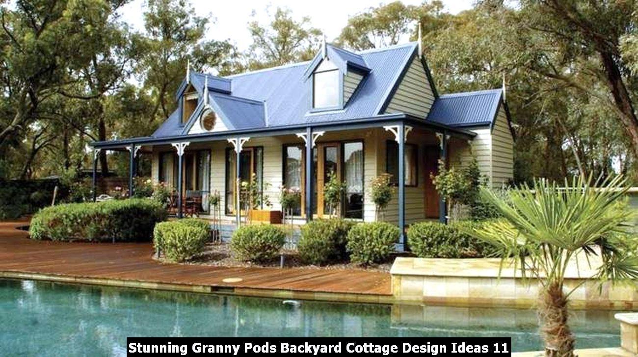 Stunning Granny Pods Backyard Cottage Design Ideas Sweetyhomee In 2020 Backyard Cottage Granny Pod Backyard House
