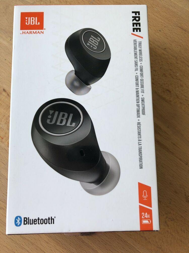 Jbl Free True Wireless In Ear Headphones Bluetooth Earbuds Like New 50036355124 Ebay Wireless In Ear Headphones In Ear Headphones Headphones