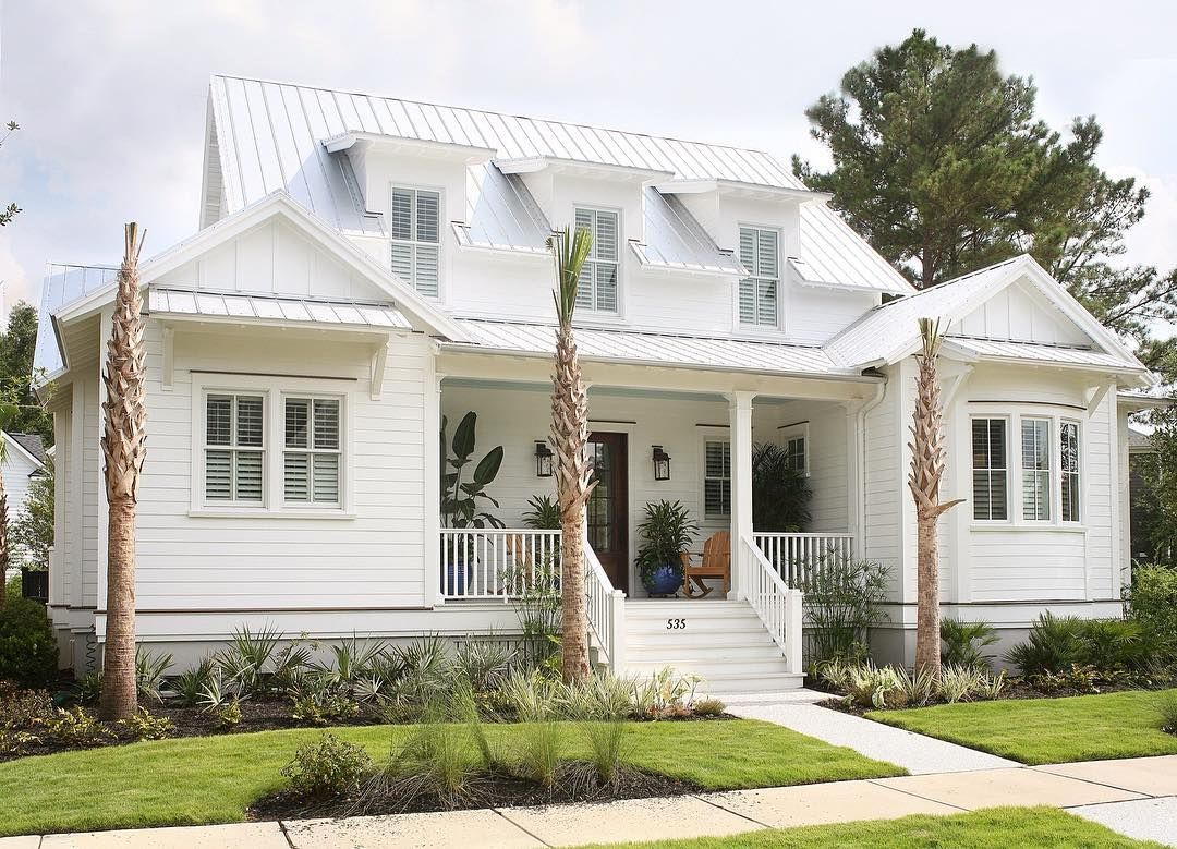 Flatfish Island Designs On Instagram Can We Please Come Home To This Cottage Love The Finished Lo Coastal House Plans Cottage House Plans Beach House Plans
