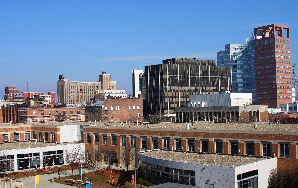 No. 10 Bridgeport, Conn. Best cities, Skyline