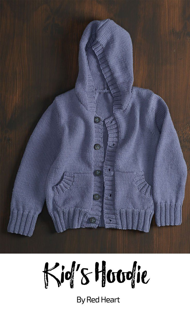 Kid\'s Hoodie free knit pattern in Cleckheaton Superfine Australian ...