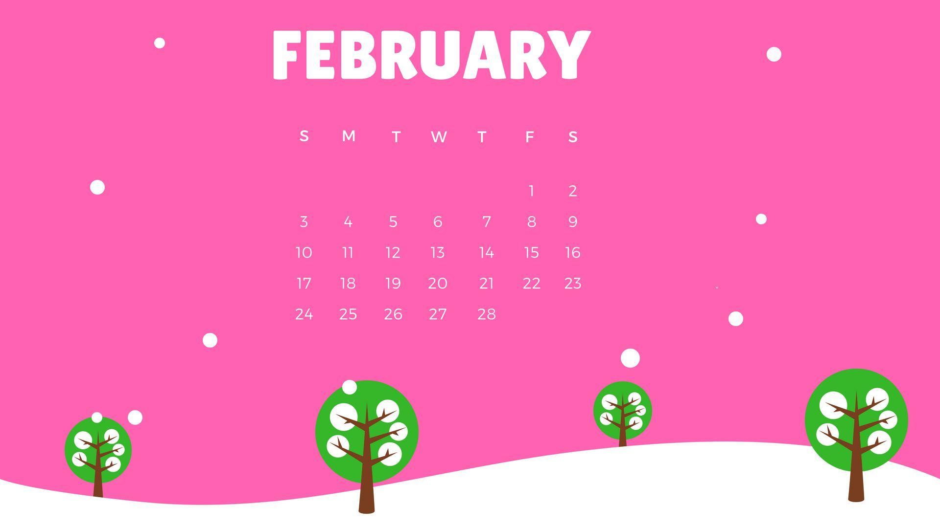 Background Calendar 2019 February february 2019 calendar wallpaper | Calendar 2019 Wallpapers | 2019