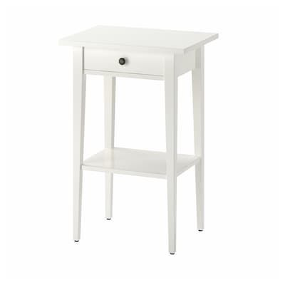 HEMNES Bed frame white stain IKEA in 2020 | Ikea hemnes