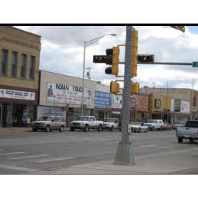 Historic Route 66 ..... Gallup, New Mexico .....my favorite street.. many walks wit my sisters rite here:-)