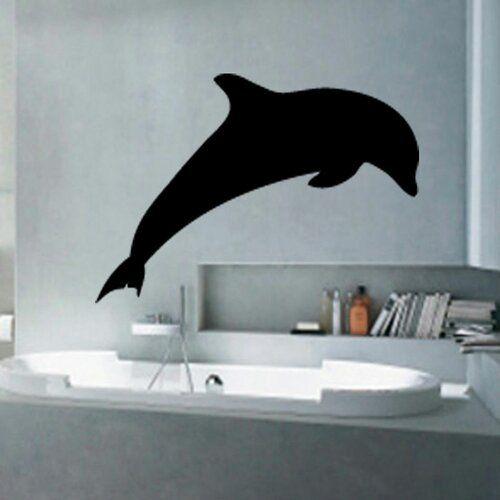 Photo of Wandtattoo Delphin East Urban Home Farbe: Brillantblau, Größe: XL