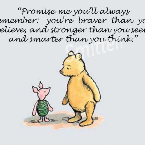 Winne The Pooh And Piglet Quote