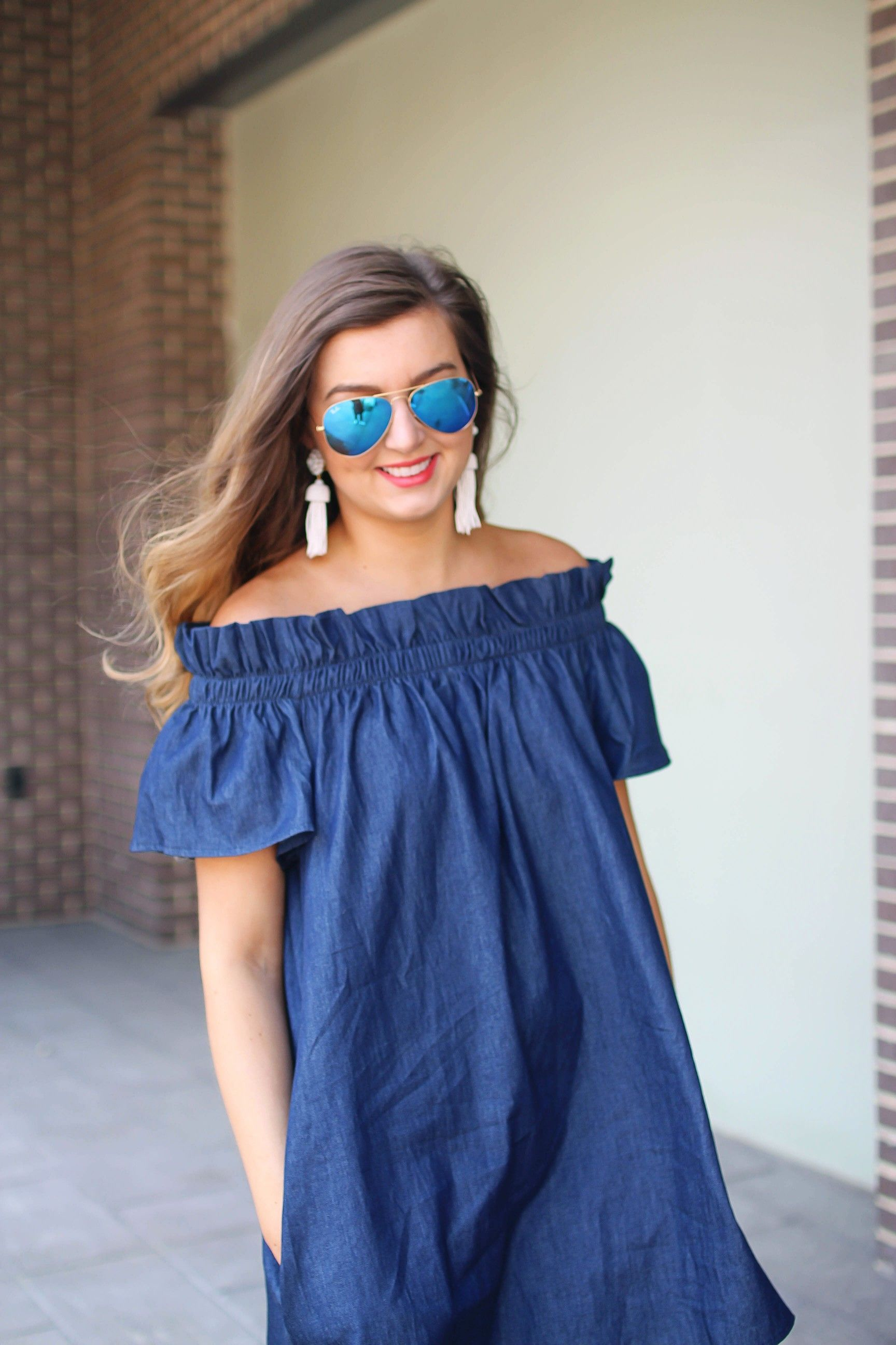Perfect the trend blue dress