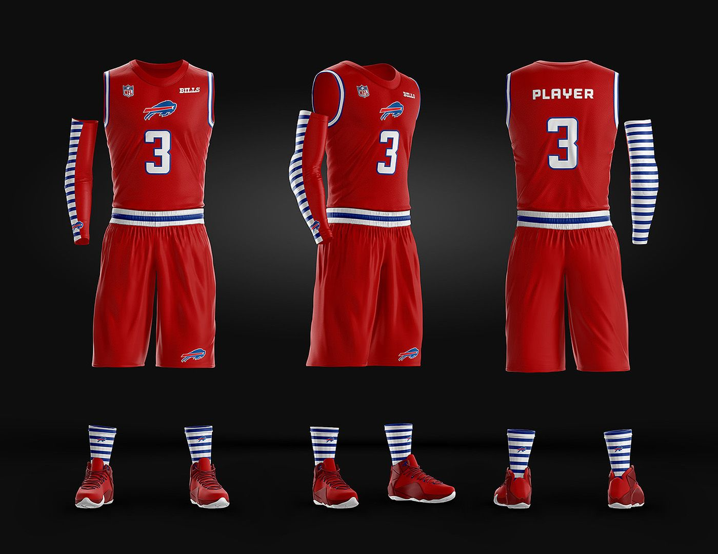 c89792c4f01 Basketball Uniform Jersey PSD template on Behance