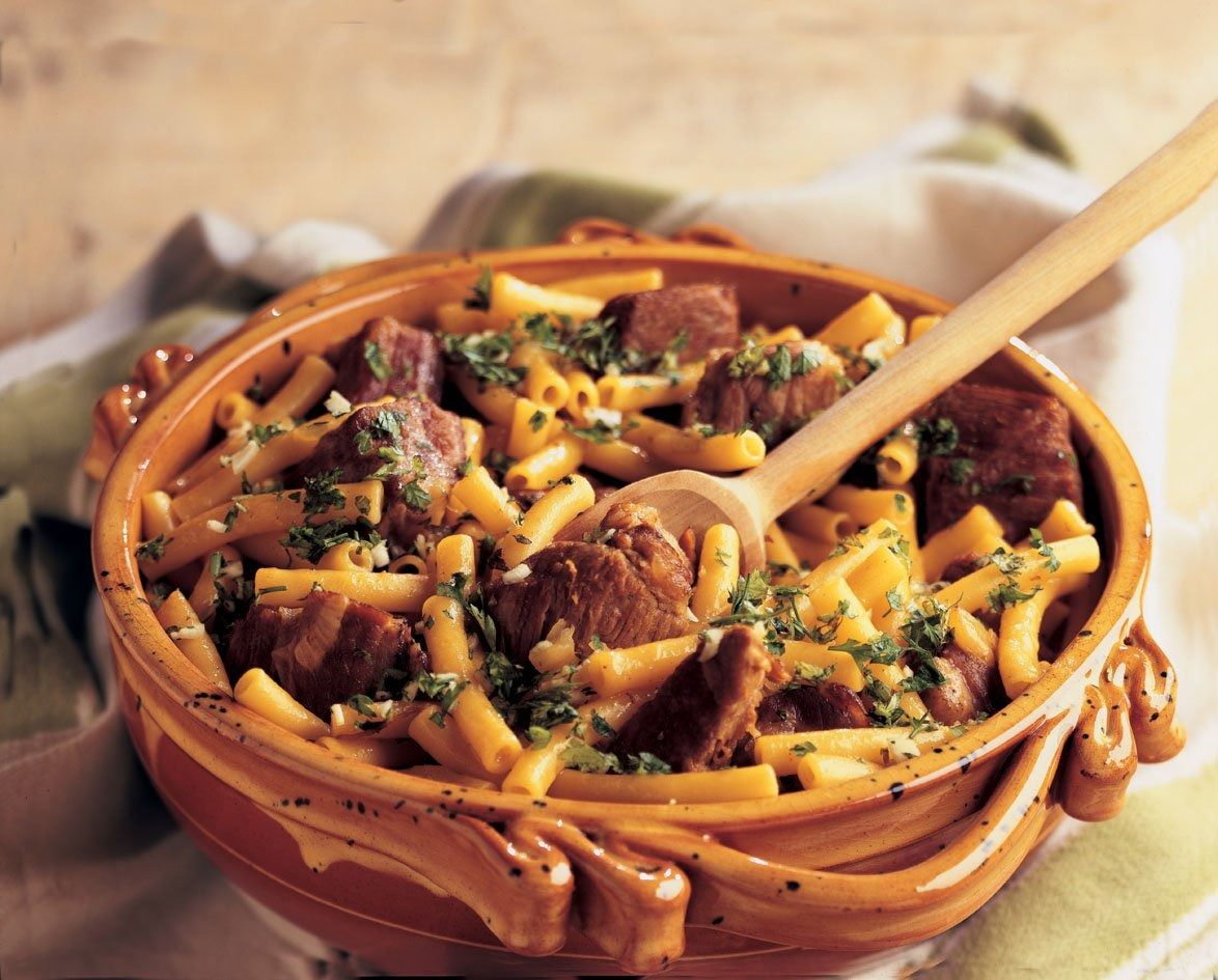 Photo of Ragoût de porc et macaronis à l'oranaise