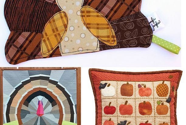 25 Free Thanksgiving Quilt Patterns & Sewing Projects (Jacquelynne ... : free thanksgiving quilt patterns - Adamdwight.com