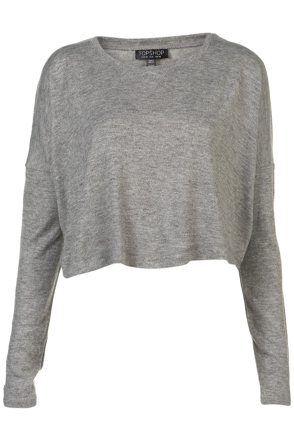d00cf39afb long sleeve cropped top