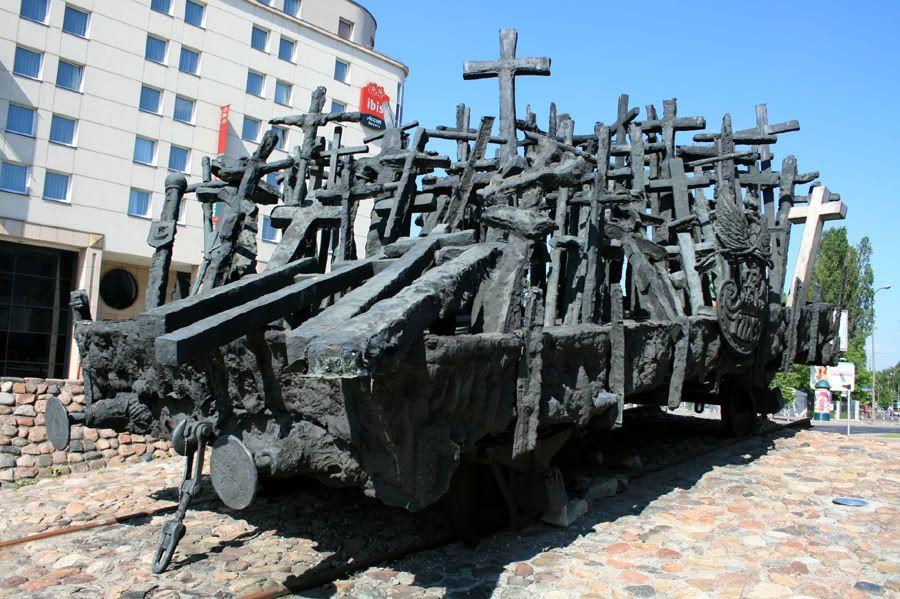 Monumento aos mortos na União Soviética, Varsóvia, Polónia