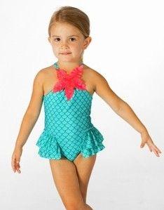 855a52d1047f8 Love U Lots Ruffled Mermaid Swimsuit | Birthdays | Mermaid swimsuit ...