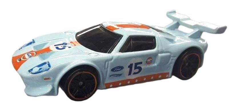 Hot Wheels Gulf Racing Ford Gt Lm