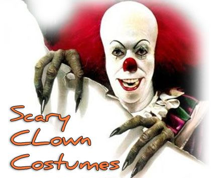 Scary Clown Costumes for Halloween! | very scary halloween ...