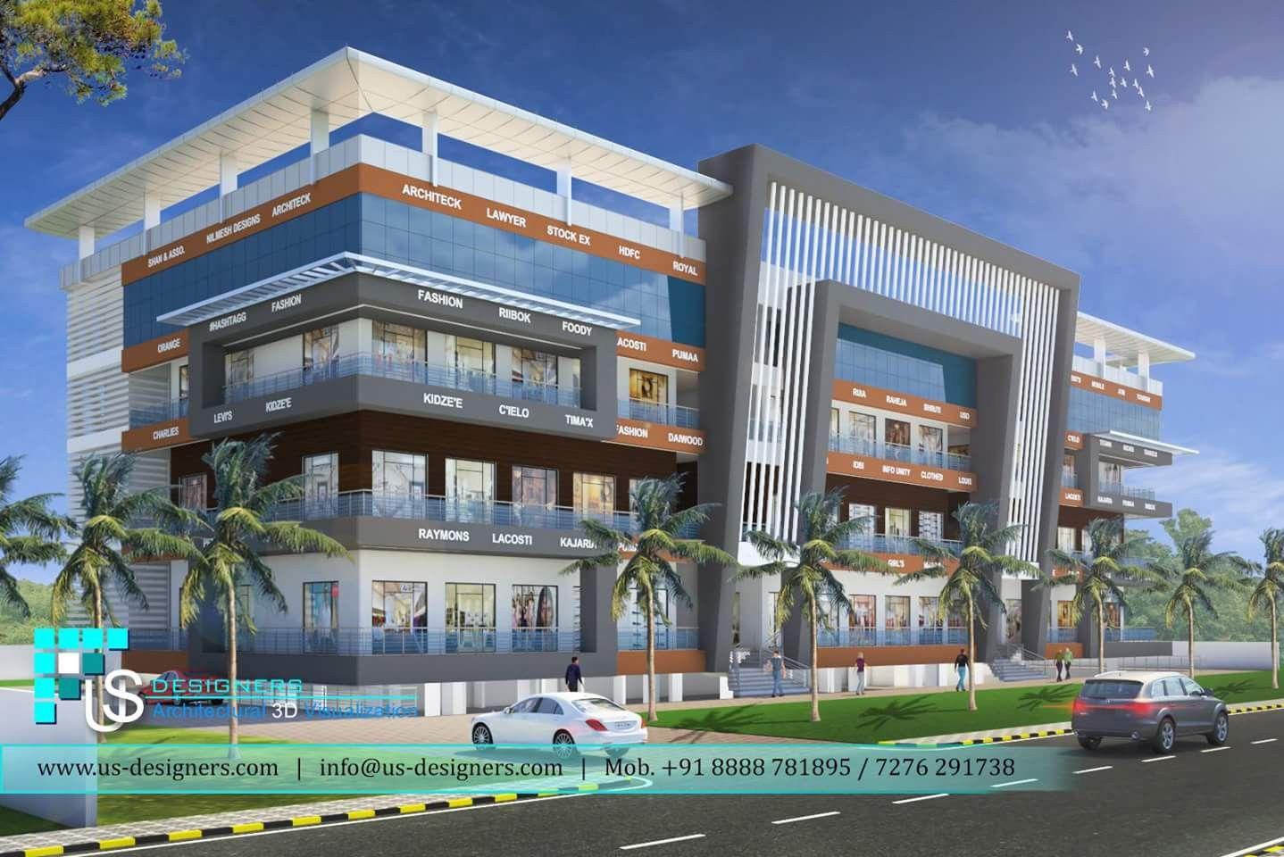 Pin By R Cie R Cardo On Elevation 1 Architecture Building Design Condominium Architecture Commercial Building Plans