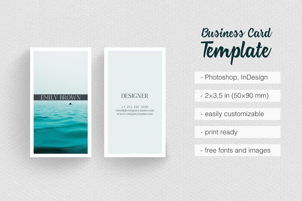 Business Cards Template Design Business Card Template Photoshop Photography Business Cards Template Photographer Business Cards