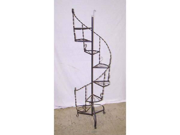 Best Spiral Staircase Plant Stand 1484 Tall Wrought Iron 400 x 300