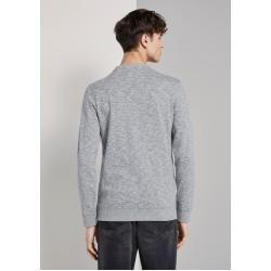 Tom Tailor Denim Herren Sweatshirt mit Print, grau, Gr.xxl Tom TailorTom Tailor