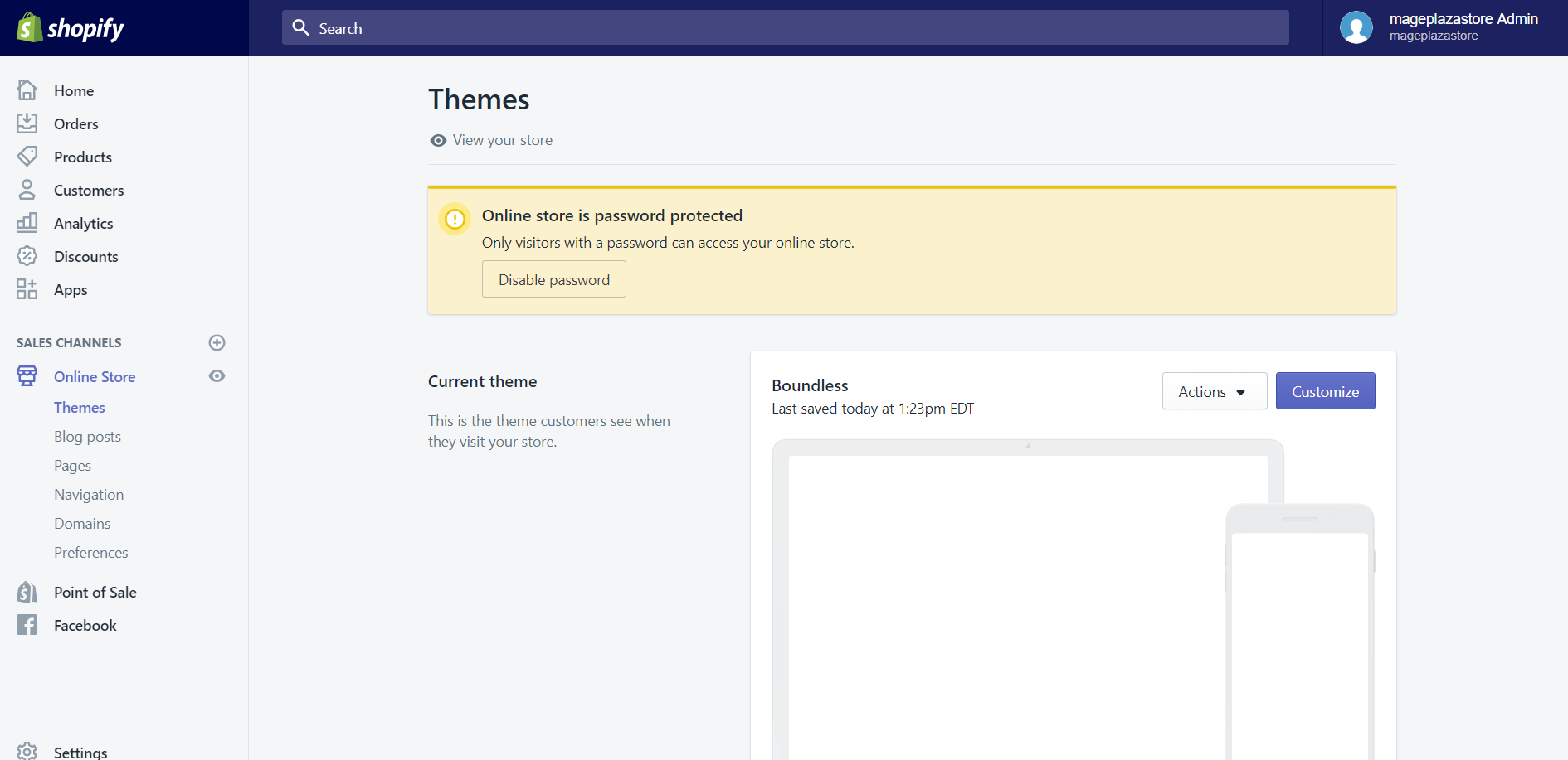 How to Share Theme Preview With Others on Shopify