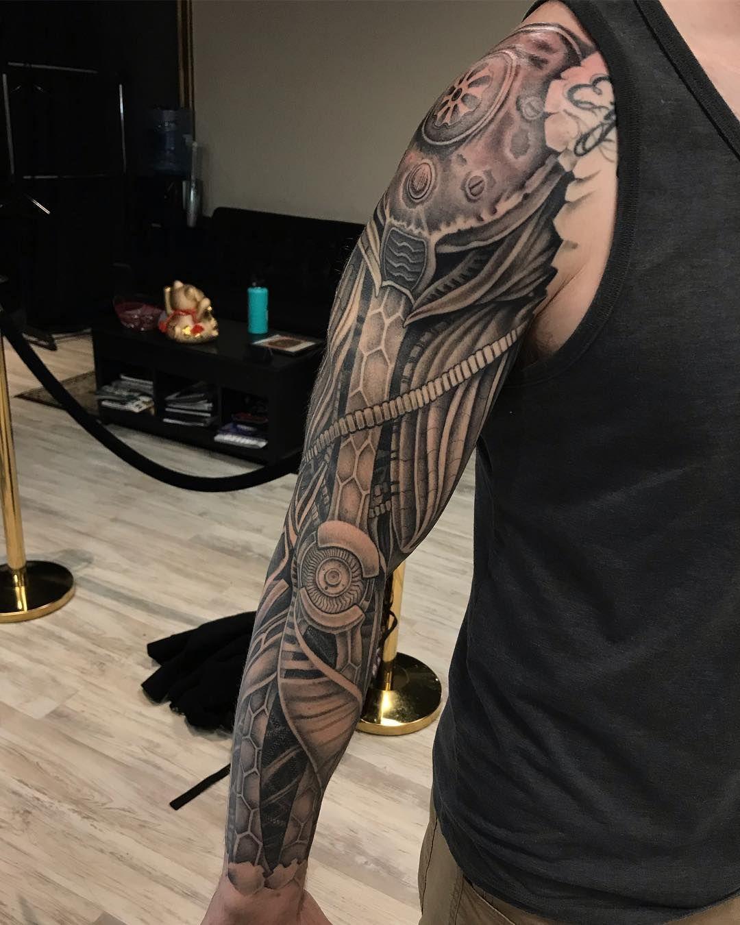 101 Amazing Robot Arm Tattoo Ideas That Will Blow Your Mind In 2020 Tattoos Tribal Arm Tattoos Tattoo Machine Design