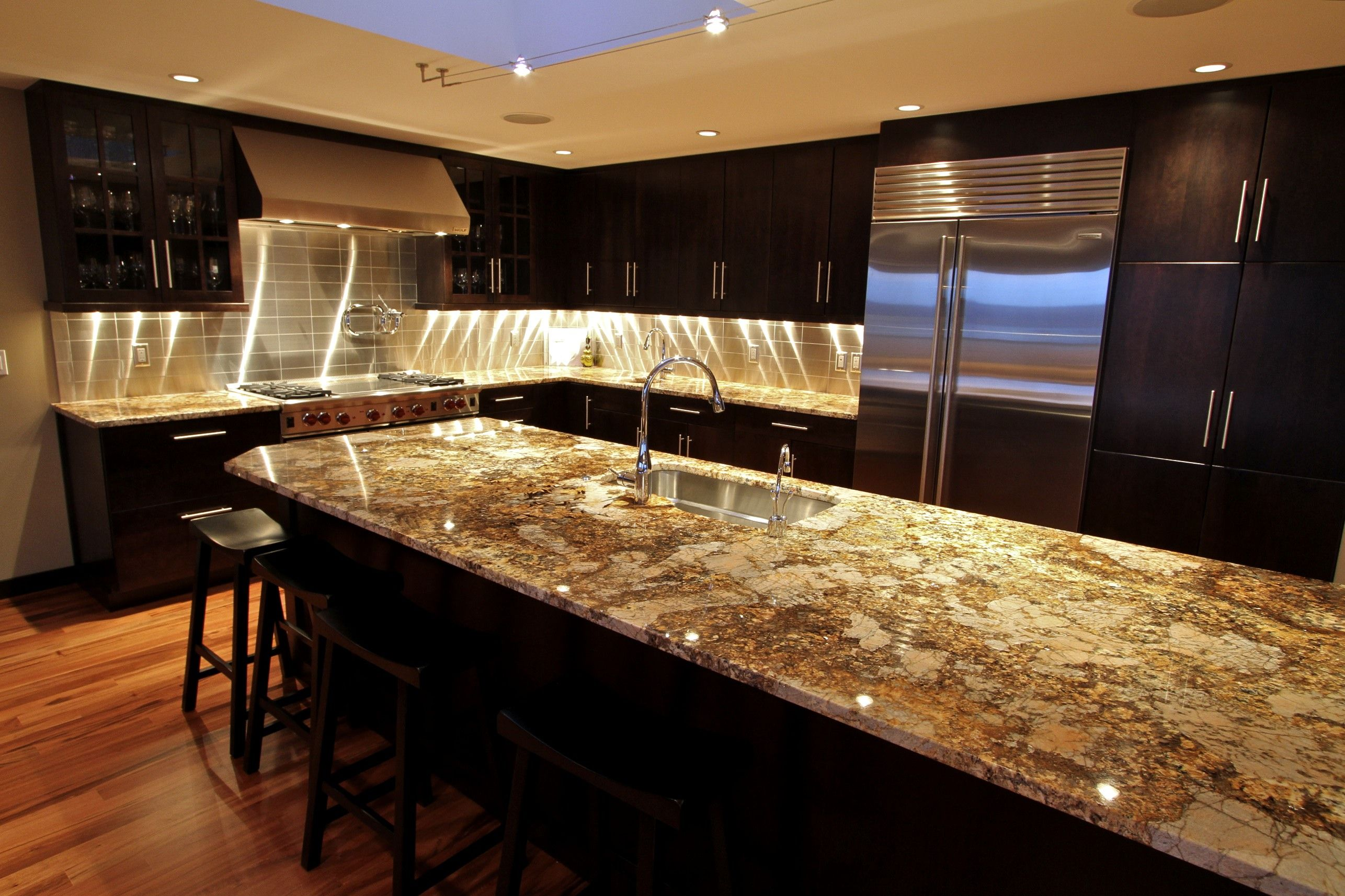 Kitchens With Granite Exotic Granite Kitchen Countertops Best Kitchen Countertops