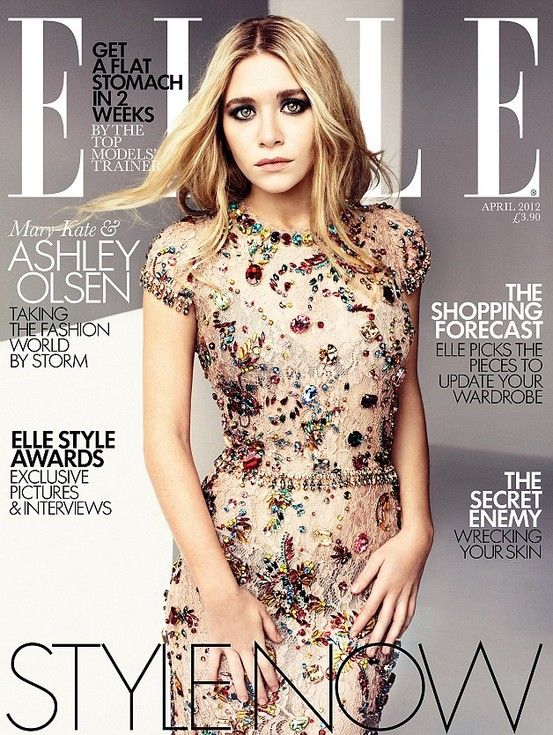ELLE UK | April 2012 | Ashley Olsen