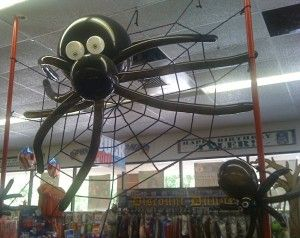 balloon decoration ideas eight halloween balloon decoration ideas from wallys party factory - Halloween Ceiling Decorations