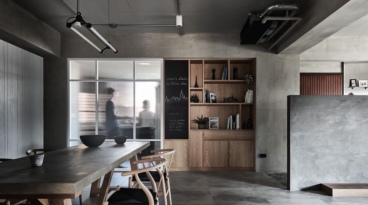 Taiwan industrial style mixed with nordic housing also spce in rh pinterest