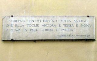 Esiste un percorso in Firenze, un percorso che oltre che farti vedere Firenze vi porterà all'inferno, in purgatorio e poi in paradiso.