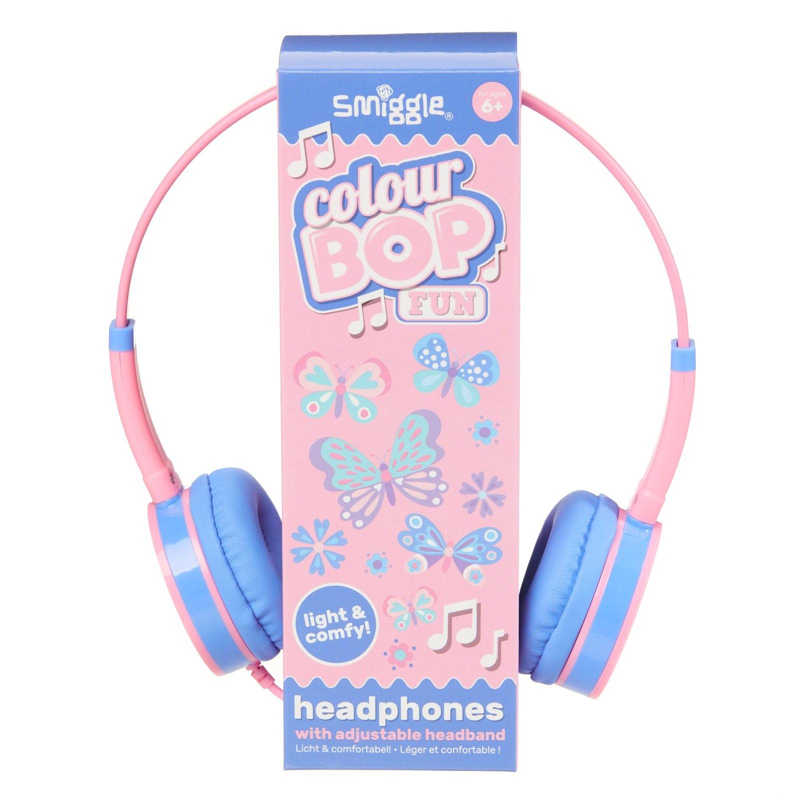 another chance unique design footwear Fun Colour Bop Headphones Pink - Smiggle Online | Matara