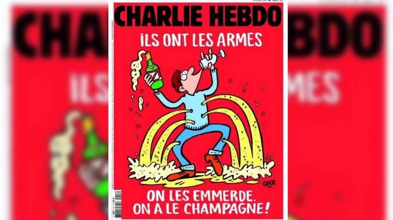 Charlie Hebdo responde a los atentados en París