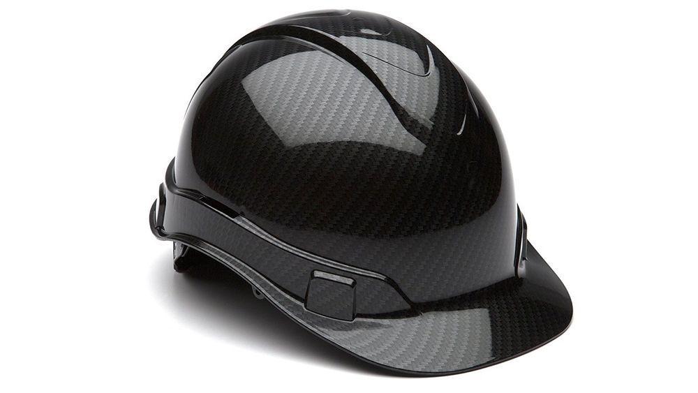 Front Brim Hard Hat 4pt Ratchet Suspension Safety Helmet