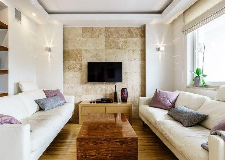 Wandfliesen In Steinoptik Beige Und Wei E Sofas Bedroom